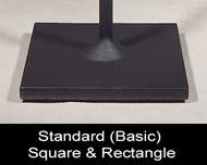 Single Square Base