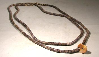 Lambayeque Stone & Shell Necklace