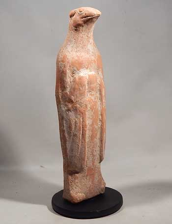 Chinese Tang Dynasty Terracotta Pottery Zodiac Tomb Attendant Figure