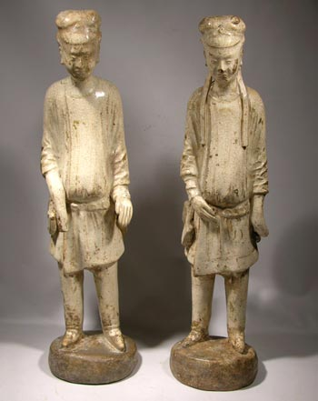 Chinese Tang Dynasty Figures  - After
