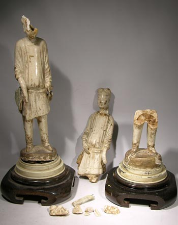 Chinese Tang Dynasty Figures - Before