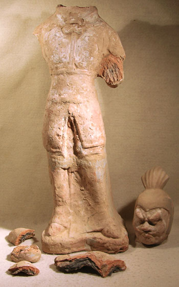 Tang Figure - Before