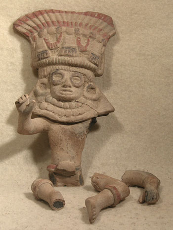 Teotihuacan Figure - Before