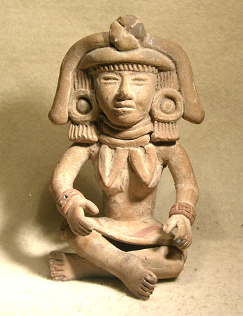 Teotihuacan Figure - After