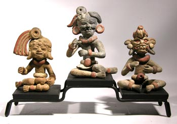 Teotihuacan Miniatures Custom Display
