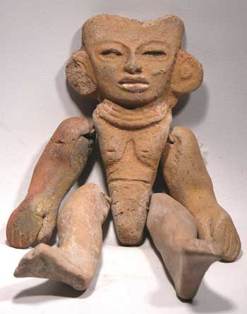 Pre-Columbian Teotihuacan Articulated Puppet Figure Ancient Mexico