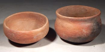 Ancient Mexico Teotihuacan Miniature Pottery Bowls Vessels