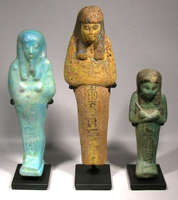Egyptian Ushabti Custom Displays