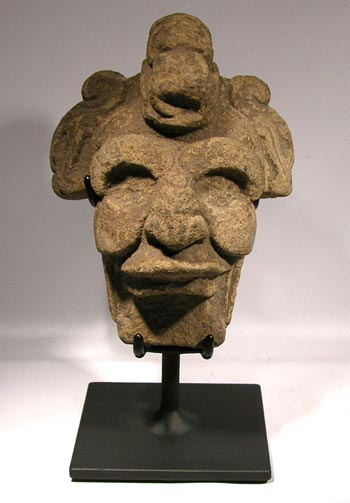 Vera Cruz Stone Head Custom Display