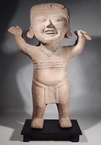 Ancient Mexico Vera Cruz Veracruz Sonriente Smiling Figure