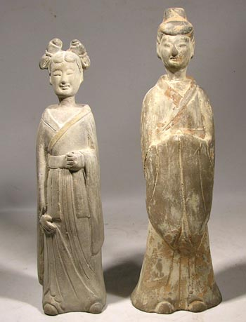 Wei Dynasty Court Attendants