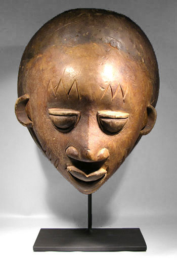 Yoruba Mask Custom Display